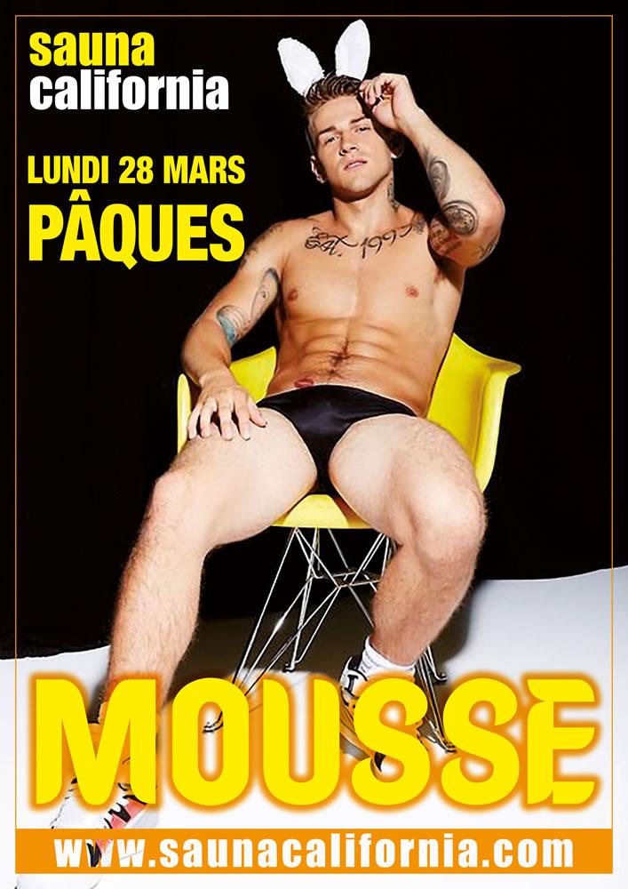 Mousse Party Gay Sauna California 12 Février
