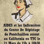 AIDES et les infirmières de Pontchaillou  le 21 mars de 15 à 18h30 !