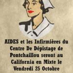 AIDES et les infirmières de Pontchaillou  le 25 octobre de 20h00 à minuit !