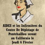 AIDES et les infirmières de Pontchaillou  le 6 février de 15h00 à 18h30 !